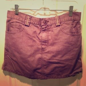 MARC JACOBS Purple Denim Jean Mini Skirt 10